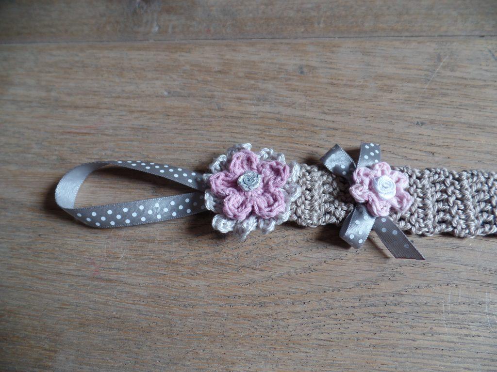close up speenkoord beige/ roze