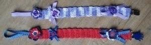 speenkoord paars en rood