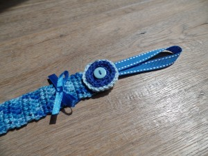 speenkoord blauw